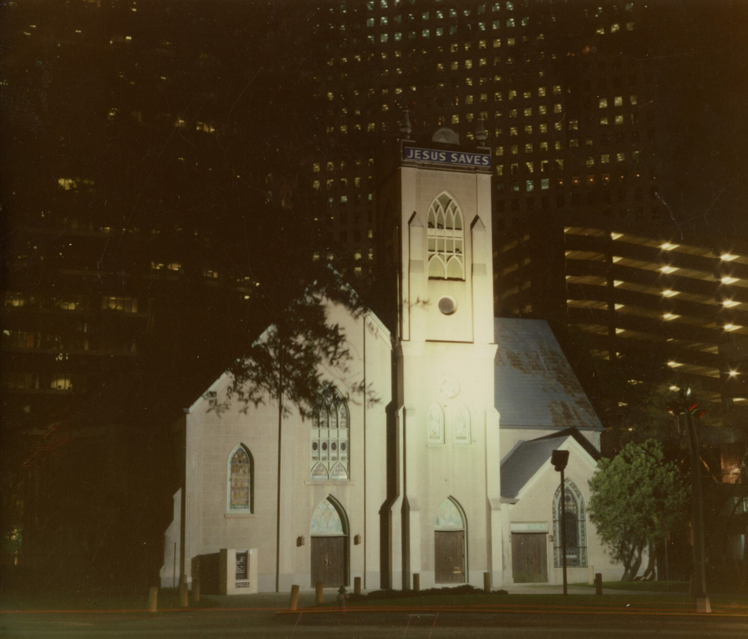 ntioch Missionary Baptist Church, cut off from the rest of Freedmen's Town by I-45