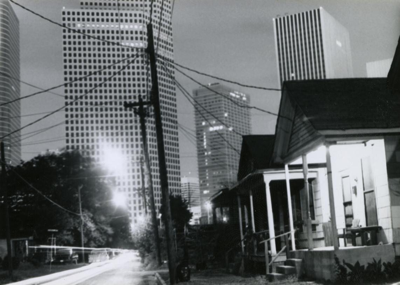 Bungalow in Freedmen's Town leading into Downtown Houston